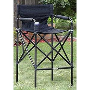 Amazon Com Impact Canopy Director S Chair Tall Folding Director S Chair Heavy Duty Set Of 2