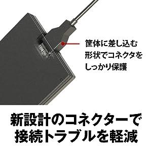 新設計のコネクターで接続トラブルを軽減