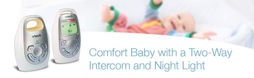 Comfort Baby with a Two-Way Intercom and Night Light