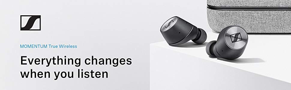 Sennheiser Écouteurs Bluetooth MOMENTUM True Wireless