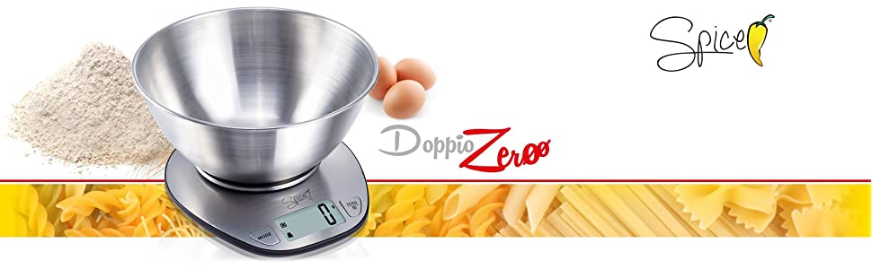 Bilancia cucina elettronica digitale spice doppiozero