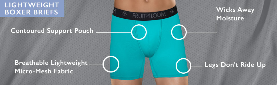 Pmftryuer Mens Beware Underwear Boxer Briefs Underpants