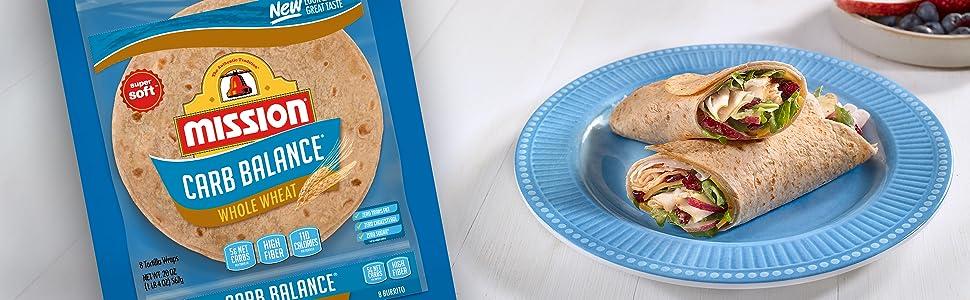 Mission Carb Balance Whole Wheat Burrito Tortillas