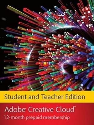 Adobe Creative Cloud Student Teacher Edition