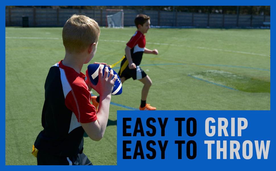 10 year old football, blue football, blue kids football, football 8 year old, football junior size