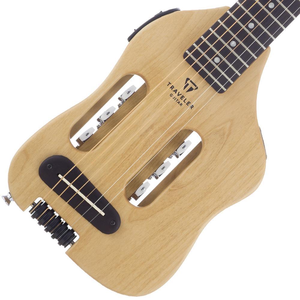 traveler guitar original escape acoustic electric travel guitar with gig bag. Black Bedroom Furniture Sets. Home Design Ideas