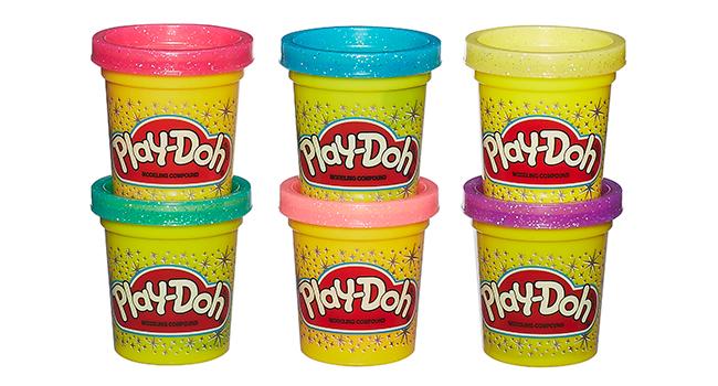 6 Non-Toxic Play-Doh Colours