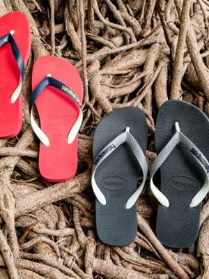 Zehentrenner;flip flops;sandalen;havaianas;hawaianas