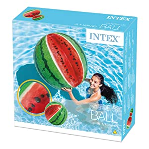 Intex, pallone anguria, piscina