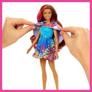 Mattel Barbie FBD64 Magie der Delfine Meerjungfrau: Amazon