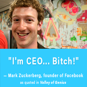 mark zuckerberg, facebook, valley of genius