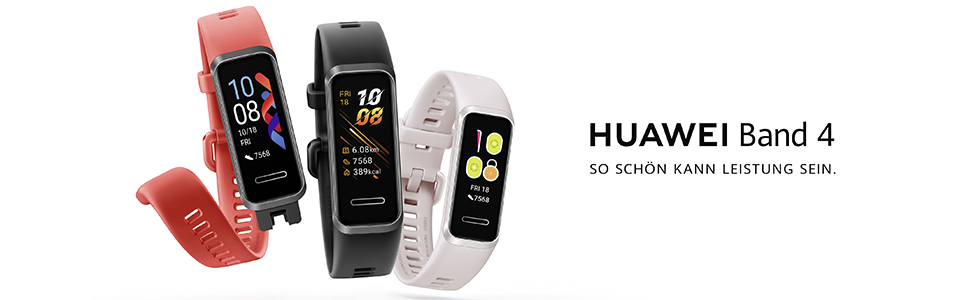 Huawei, band, 4, smartwatch, fitness, armband, smartband, polsband, hartslagmeter, hartslagmeter