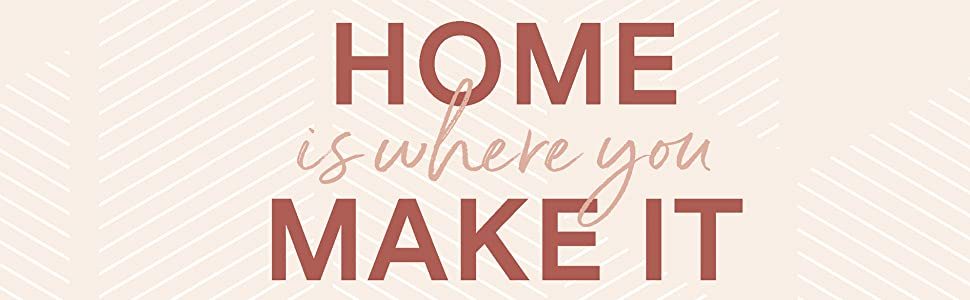 Home Is Where You Make It Diy Ideas Styling Secrets To Create A Home You Love Whether You Rent Or Own Vanderzeil Geneva 9781982144814 Amazon Com Books
