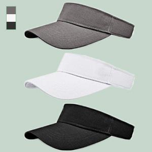 JINLL Empty Top Sports Visor Hats Adjustable Cap One Size Outdoor Sun Sports Visor For Women And Men