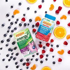 Emergen-C, EmergenC, Immune Plus, Vitamin C, Immune Support, Gummies, Energy Drink Mix