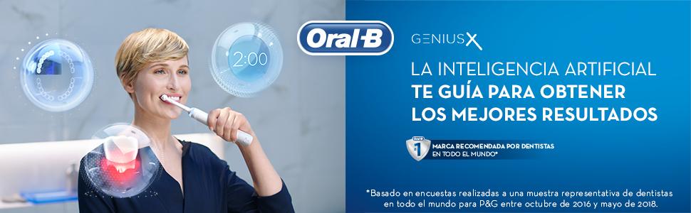 Oral-B Genius X 20000N - Cepillo de Dientes Eléctrico con ...