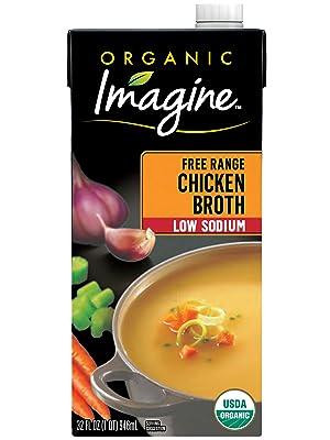 Imagine Organic Low Sodium Free Range Chicken Broth