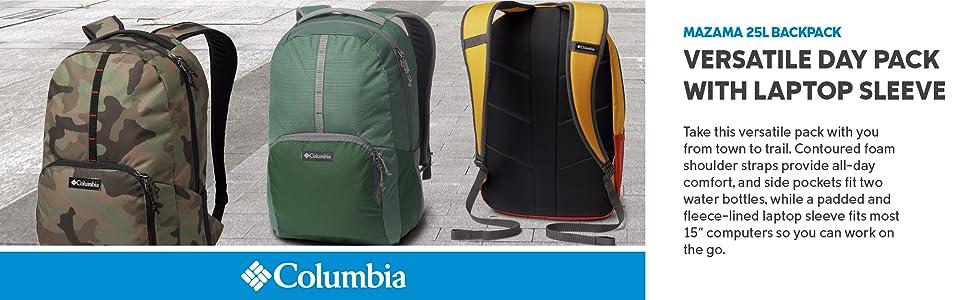 Columbia Mazama 25L Liter laptop backpack
