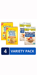 Wheat Thins Triscuit Variety Pack