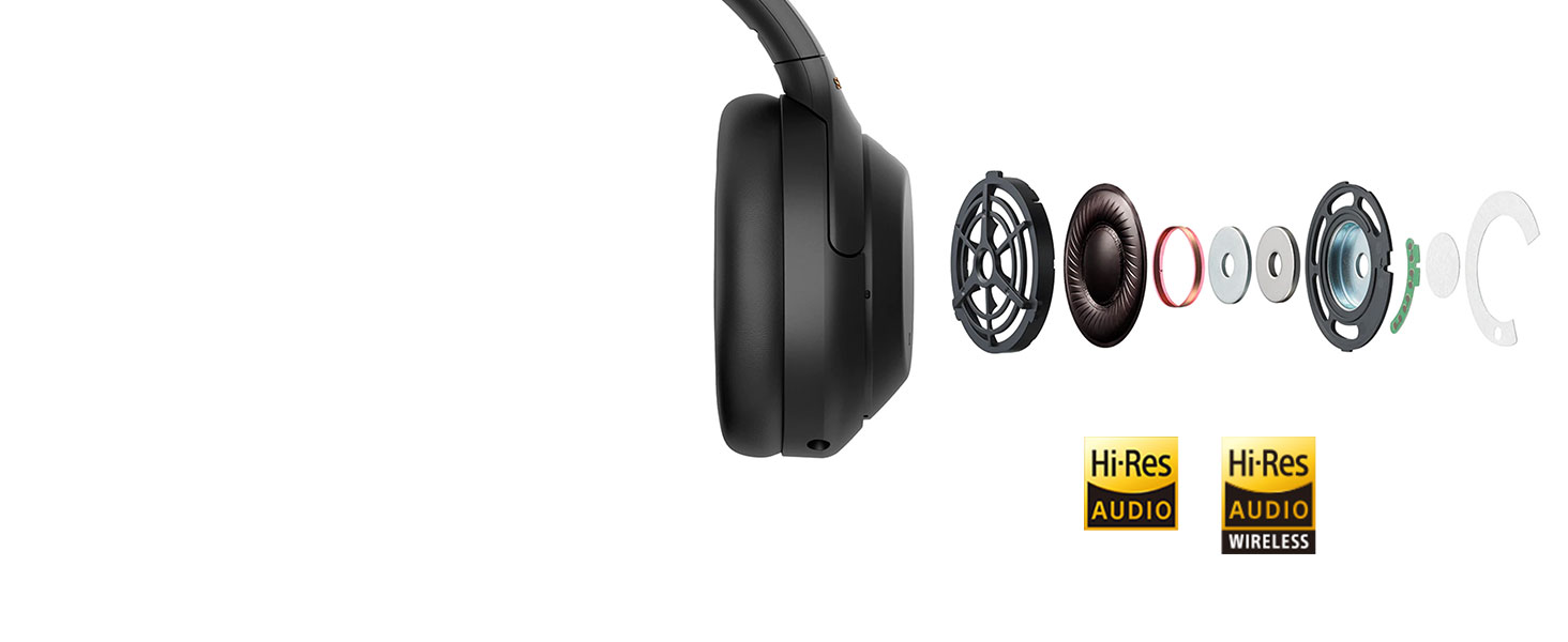 Sony WH-1000XM4, WH1000XM4, 1000XM4, casque bluetooth, casque sans fil, Faible distorsion, Hi-Res