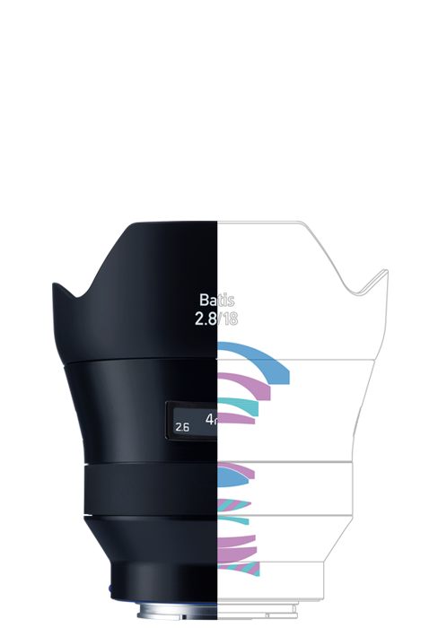 ZEISS Batis 2.8/18 Super Wide-angle Camera Lens for Sony E-mount Mirrorless Cameras