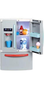 Little Tikes First Fridge Refrigerator with Ice Dispenser Pretend Play Appliance