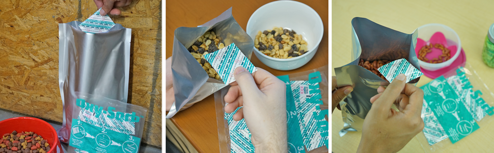 1 Gallon Mylar Bags & Oxygen Absorbers for Dried Food & Long Term Storage by Dry-Packs!
