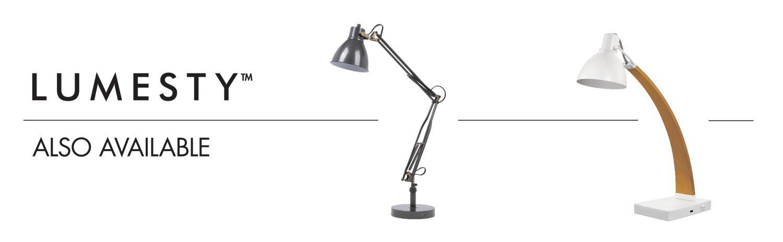 Lumesty Phoenix Led Integrated Desk Lamp Matte Graphite