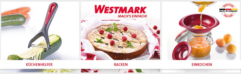 Westmark Kräutermühle für frische Kräuter, 18,5 x 16 x 5,8