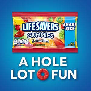 LIFE SAVERS Candy: A Hole Lot O Fun