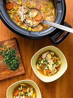 Chicken and Garden Vegetable Soup