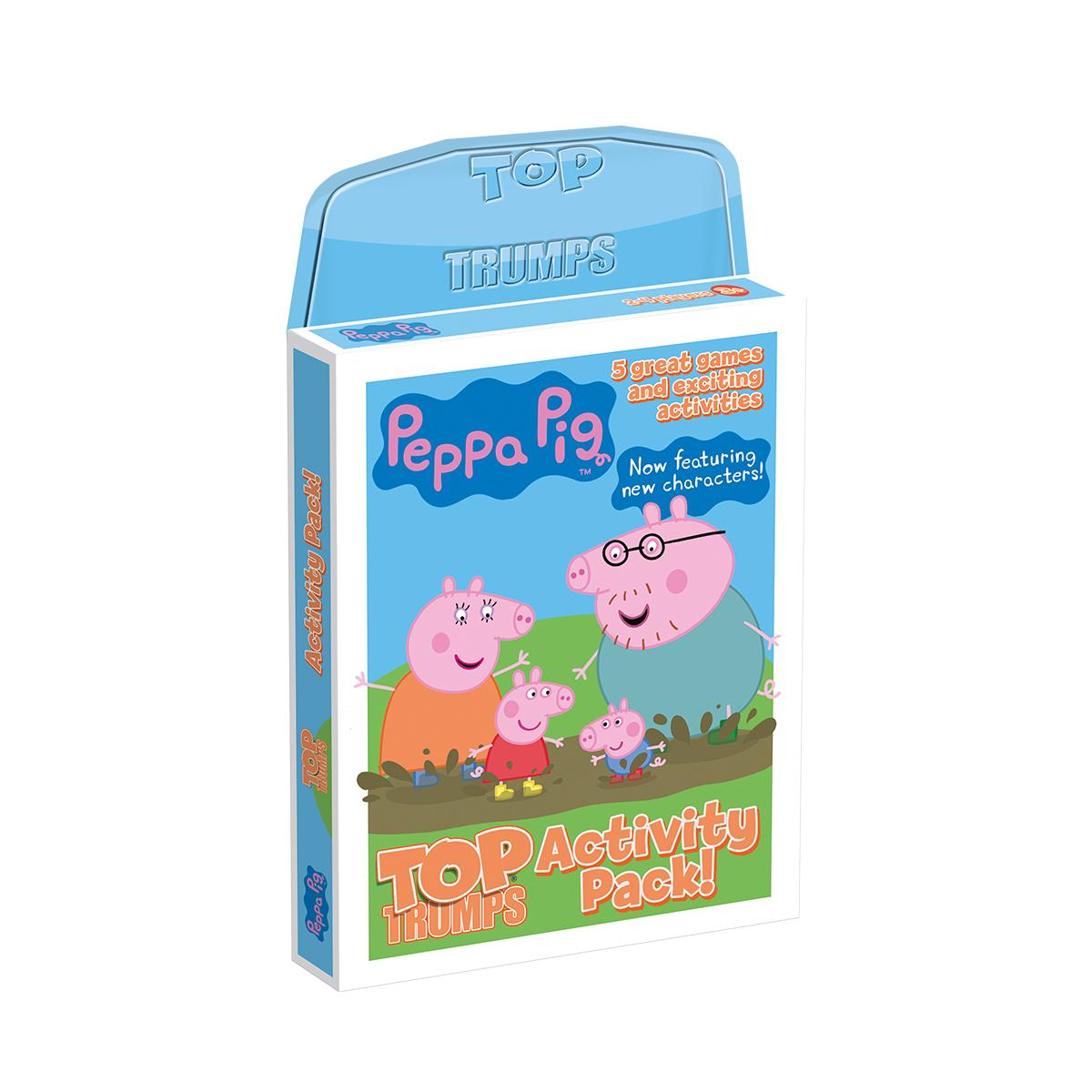 Activity Pack Peppa Pig Top Trumps Card Game