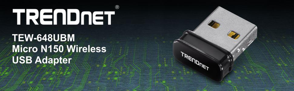 Drivers for TRENDnet TEW-648UBM WLAN