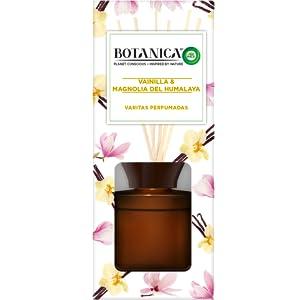 Botanica by Air Wick Varitas Perfumadas - Ambientador Mikados, Esencia Para Casa con Aroma a Vainilla y Magnolia del Himalaya - 100 ml: Amazon.es: Salud y cuidado personal