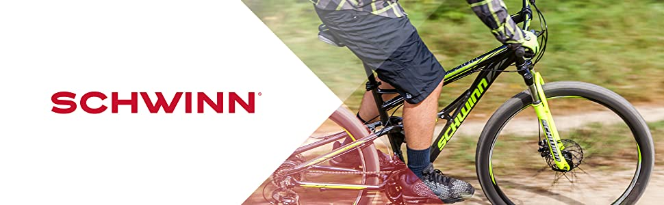 Schwinn Traxion Full Dual-Suspension Mountain Bike, Featuring  18-Inch/Medium Aluminum Frame and 29-Inch Wheels with Mechanical Disc  Brakes, 24-Speed