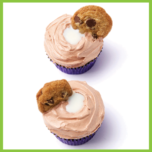 Milk and Cookie Cupcakes