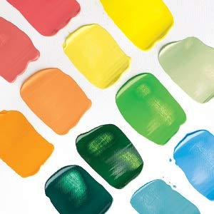 Liquitex 1046230 Basics Acrylfarbe Monopigmentierte Künstlerpigmente Lichtecht Mittlere Viskosität Achivqualität Seidenglänzender Finish 118ml Tube Kupfer Küche Haushalt