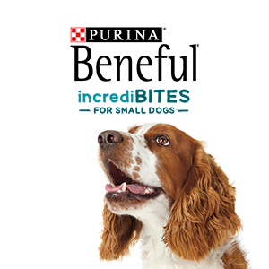 Purina Beneful IncrediBites dog food for small dogs