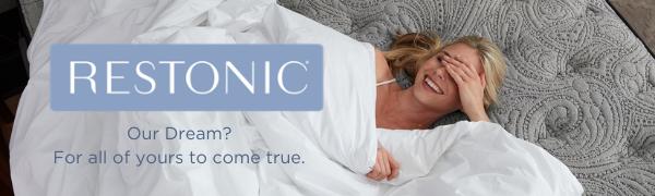 restonic; mattress; queen mattress; king mattress; twin mattress; full mattress; best mattress