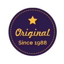 original artwork badge
