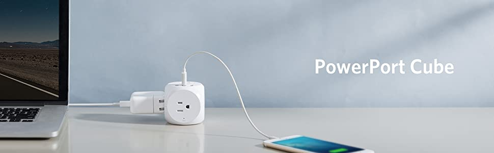 Anker PowerPort Strip 3 with 3 USB Ports