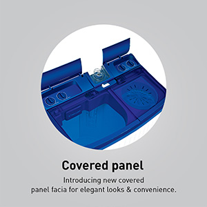 Covered panel