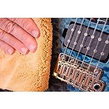 guitar care, guitar cleaner, guitar towel, guitar rag, guitar fretboard, guitar strings