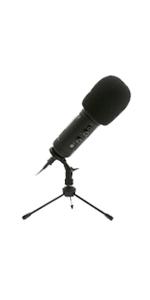 Portable Mic, Desktop Mic, Microphone Desktop, Desk Mic, Streaming Mic, Gaming Microphone
