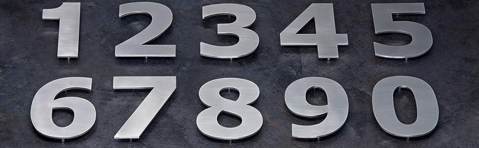 EVI Herrajes 0641808CPAM Ocho, Acero Inoxidable 316, 3Mm Grosor, EFE, Numero 8, 80mm