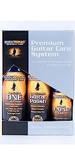 guitar cleaner, guitar polish, fretboard oil, guitar microfiber cloths, guitar kit, bass, tool kit