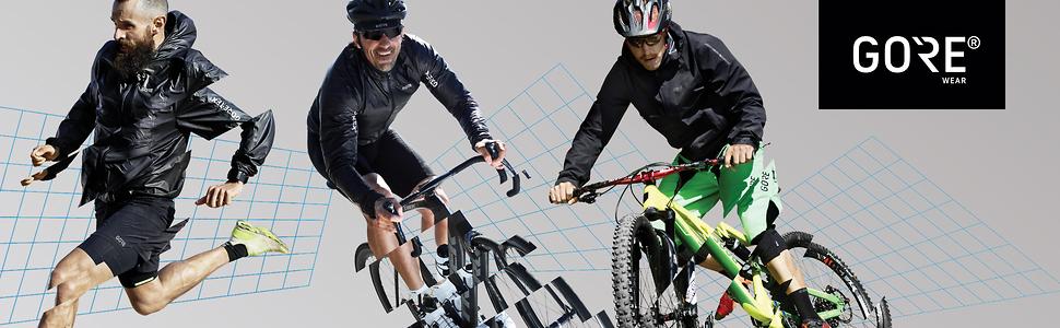 Oxygen Partial Thermo Bibtights /¾ + WWOXMQ Gore Selected Fabrics Sitzpolster Gore Bike WEAR Herren Warme 3//4 Rennrad-Hose mit Tr/ägern