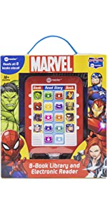 Marvel - Avengers, Spider-man, and Guardians of the Galaxy Me Reader Library
