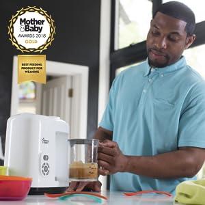 Tommee Tippee Baby Food Steam Blender White
