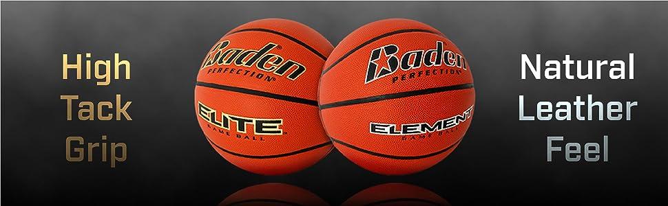 Amazon.com: Baden Elemento interior Juego Baloncesto, NFHS ...